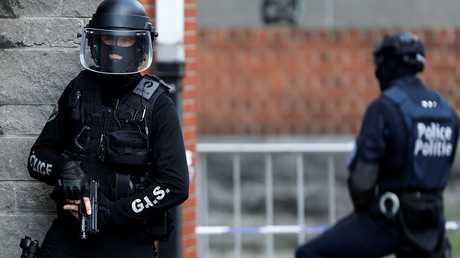 قوات الأمن البلجيكي
