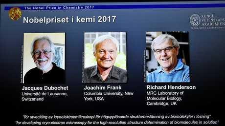 ثلاثة علماء يحصدون جائزة نوبل للكيمياء
