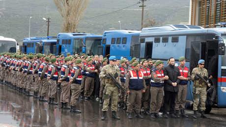 متهمون بمحاولة الانقلاب في تركيا