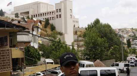 مبنى القنصلية الأمريكية في إسطنبول