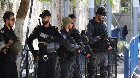 قوات الشرطة الإسرائيلية - أرشيف