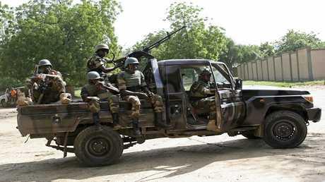 أرشيف - جنود من النيجر في مهمة