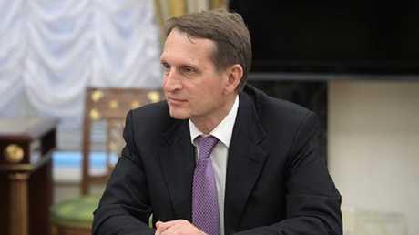 مدير الاستخبارات الروسية الخارجية سيرغي ناريشكين
