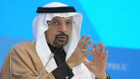 وزير الطاقة السعودي خالد الفالح في موسكو