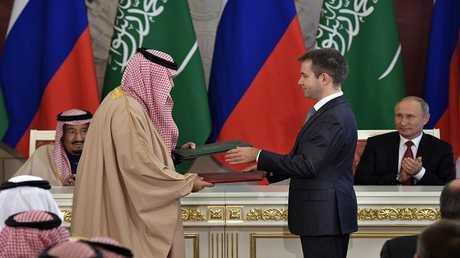 زيارة الملك سلمان لموسكو تتوج بتوقيع حزمة واسعة من الاتفاقيات