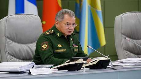 سيرغي شويغو وزير الدفاع الروسي