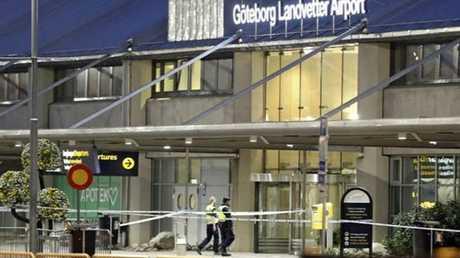 مطار لاندفيتر في غوتنبرغ بالسويد