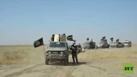 القوات العراقية تطهر قرى بشمال الحويجة