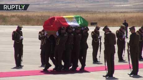 مراسم تشييع جلال طالباني في السليمانية