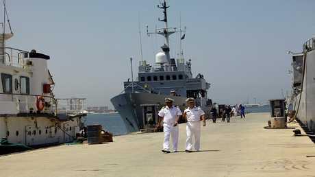 ميناء ليبي