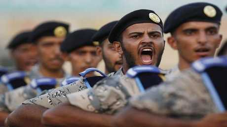 صورة أرشيفية لقوات الأمن السعودي