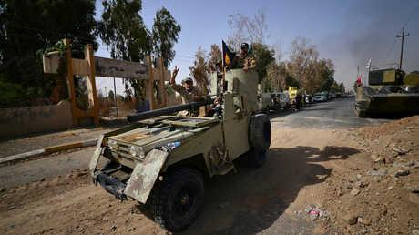 عناصر للحشد الشعبي في العراق