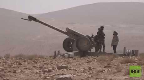 الجيش السوري يسيطرة على مناطق بريف حمص