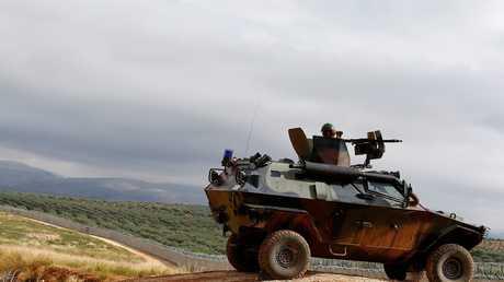 الشريط الحدودي بين سوريا وتركيا