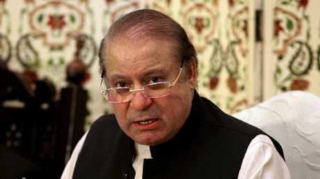 رئيس الوزراء السابق في باكستان نواز شريف