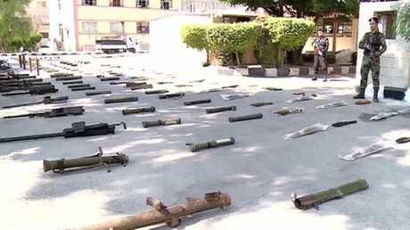 اسلحة أمريكية استخدمها الارهابيون في سوريا