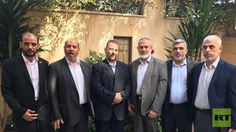 """وفد لحركة """"حماس"""" في القاهرة"""