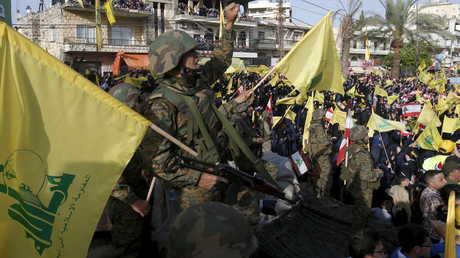 """عناصر من """"حزب الله"""" (أرشيف)"""