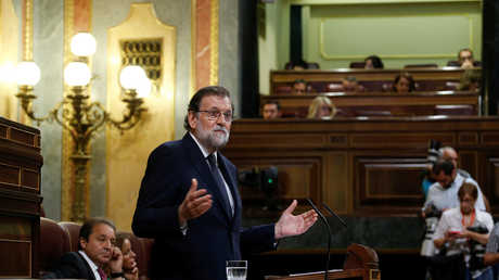 رئيس الوزراء الإسباني مريانو راخوي