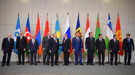 قمة رابطة الدول المستقلة في سوتشي