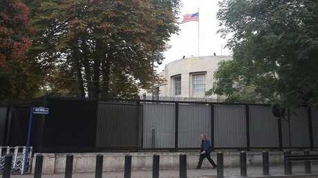 مبنى السفارة الأمريكية في أنقرة