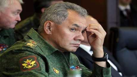 وزير الدفاع الروسي، سيرغي شويغو