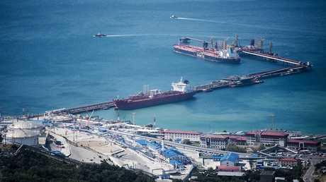 ميناء نوفوروسيسك الروسي
