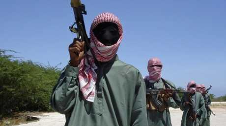 مقاتلين من حركة الشباب الصومالية
