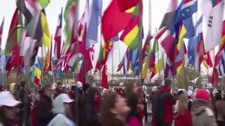 انطلاق مهرجان الشباب العالمي في روسيا