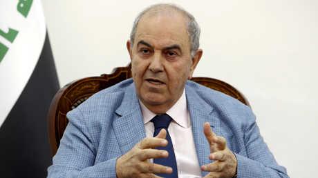 نائب الرئيس العراقي إياد علاوي