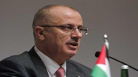 أرشيف - رامي الحمد الله رئيس الوزراء الفلسطيني