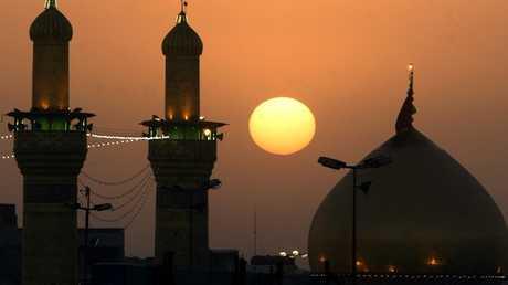 مدينة كربلاء جنوب العراق