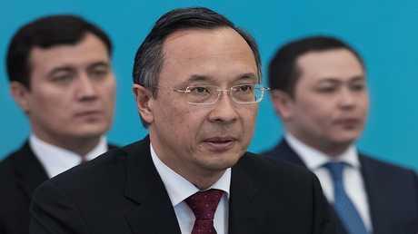 خيرت عبد الرحمنوف، وزير الخارجية الكازاخستاني