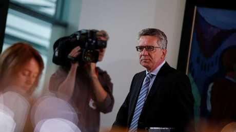 وزير الداخلية الألماني توماس دي ميزير