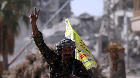 قوات سوريا الديمقراطية في الرقة