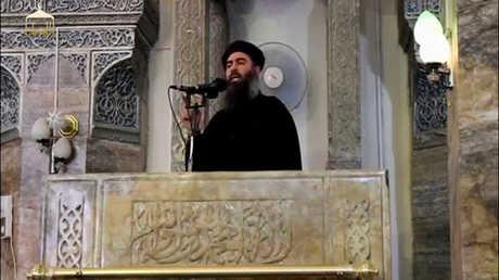 أبو بكر البغدادي.. صورة أرشيفية