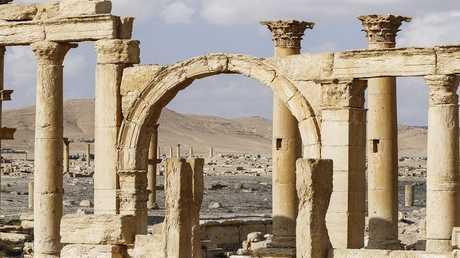 مدينة تدمر الأثرية السورية