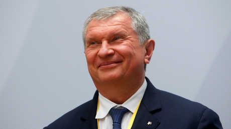 """إيغور سيتشن الرئيس التنفيذي لشركة """"روس نفط"""""""
