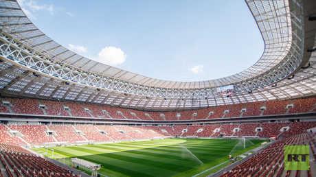 أحدث الصور لملعب لوجنيكي الذي يستضيف مباراة افتتاح مونديال روسيا 2018