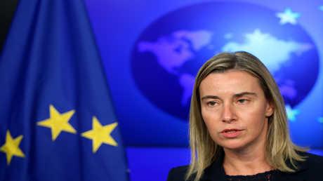 مسؤولة السياسة الخارجية في الاتحاد الأوروبي فيديريكا موغيريني