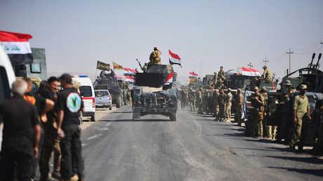 وحدات من القوات العراقية