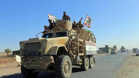 عناصر الجيش العراقي