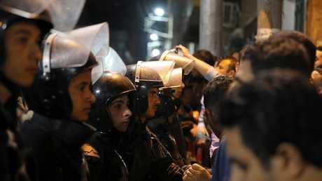 عناصر من القوات الأمنية المصرية