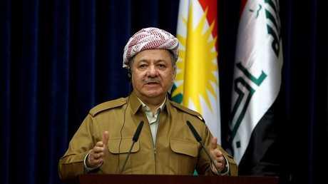رئيس اقليمكردستانمسعود بارزاني