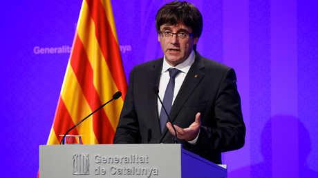 رئيس حكومة كتالونيا كارليس بوتشديمون