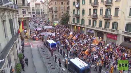 إقليم كتالونيا يؤكد أن إجراء الانتخابات أمر غير مطروح