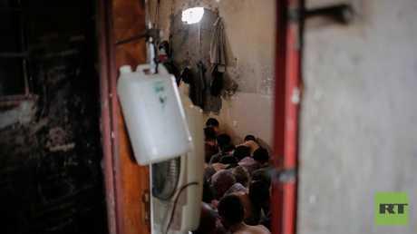 """سجن لـ""""الدواعش الأسرى"""" قرب الموصل"""