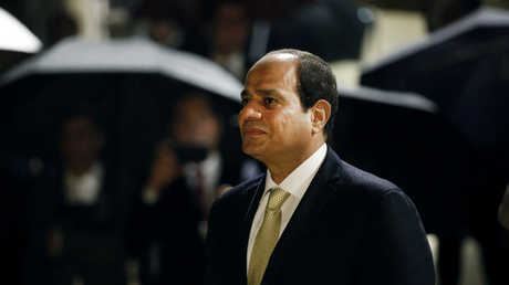 الرئيس المصري، عبد الفتاح السيسي، في باريس.