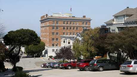 مبنى القنصلية الروسية، في سان فرانسيسكو، كاليفورنيا 1 سبتمبر 2017