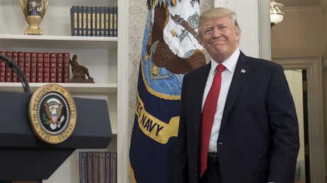 رئيس الولايات المتحدة، دونالد ترامب